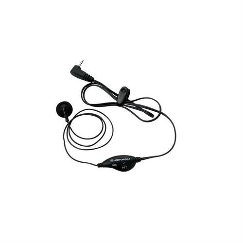 Motorola Earbud with Push-to-Talk Microphone 53727