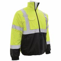 ERB W105 Class 3 Black Bottom Safety Jacket - Yellow/Black